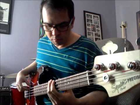 Sixpence None the Richer - Kiss Me Bass Cover