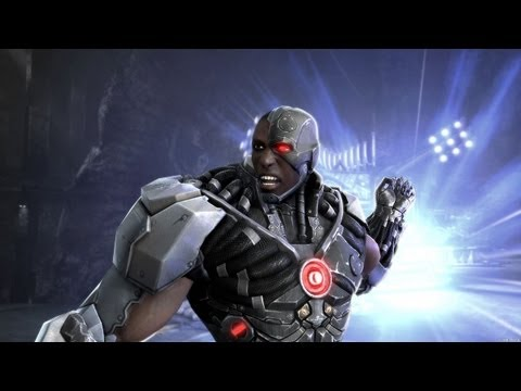 Injustice: Gods Among Us - 'Nightwing & Cyborg Reveal Trailer' TRUE-HD QUALITY