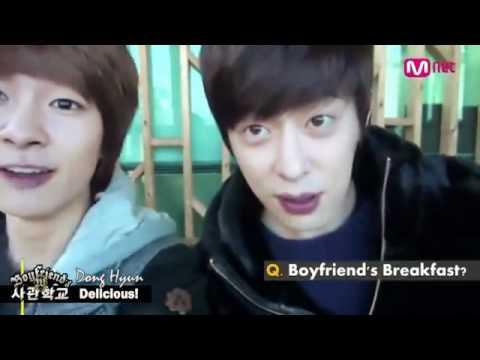 Boyfriend W Academy - Donghyun's 5th UCC 120210