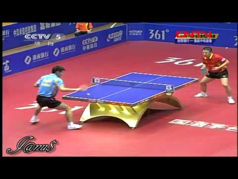 2011 China Super League @CCTV :: MA Lin - ZHANG Jike [Full Match|Short Form]