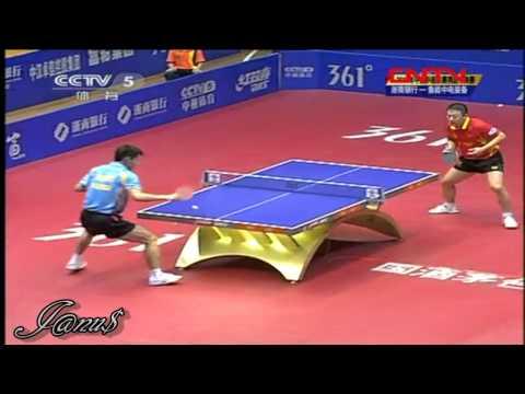 2011 China Super League @CCTV :: MA Lin - ZHANG Jike [Full Match|Short Form]