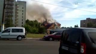 Пожар в в гостинице «Relax»