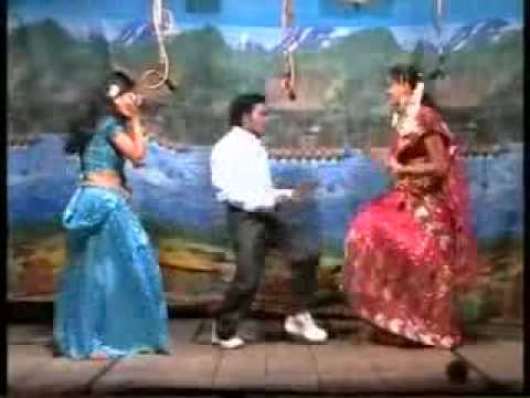 Andhra Village Stage Record Dance TELUGU