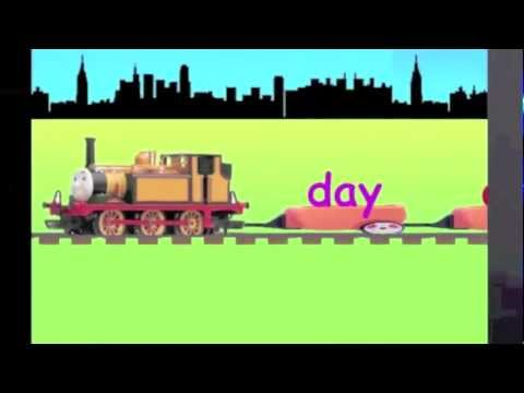 Alphabet Train : Learn Spellings : D - learning English spellings video for kids