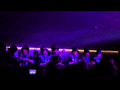 SALA FLAMENCO parte popurri increible PIOJO catastrophic magic band  24/02/2013 SEVILLA HD