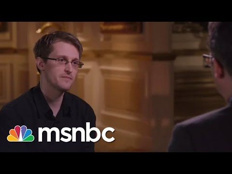 John Oliver To Snowden 'You Have To Own This
