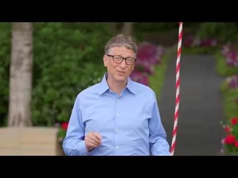 بالفيديو : بيل غيتس يقبل تحدي مارك مؤسس الفيس بوك بطريقة كوميدية