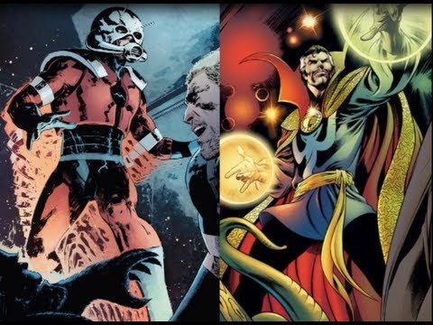 Ant Man and Doctor Strange to Lead Marvel's Phase 3