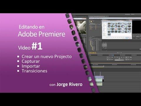Crear un nuevo proyecto - Adobe Premiere Pro CS5 - Tutorial