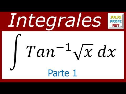 Integral por sustitucion y partes (1 de 2)