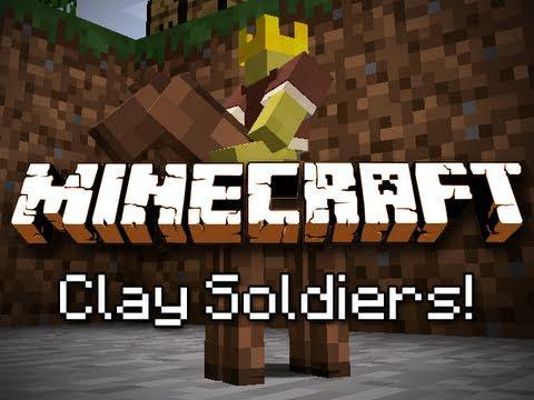 Minecraft: Clay Soldier Mod!