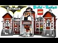 ???? LEGO BATMAN MOVIE Arkham Asylum 70912 | LEGO Speed Build + Review