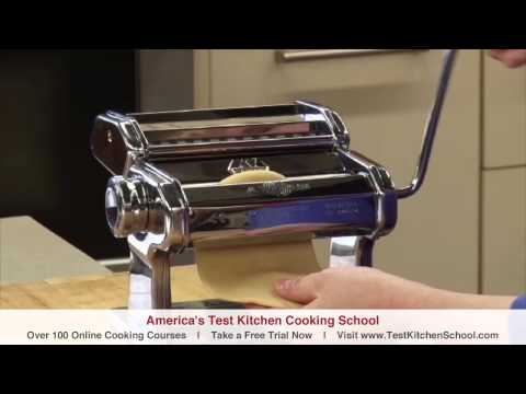 Learn To Cook: How to Make Fresh Pasta (Homemade Fettuccine)