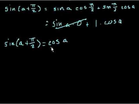 Identita' Trigonometriche Parte 3 (Parte 5 Se Guardi Le Dimostrazioni)