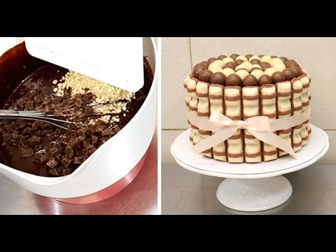 DIY KINDER Brownie CHOCOLATE Cake - How To Make *Torta Kinder - UCjA7GKp_yxbtw896DCpLHmQ