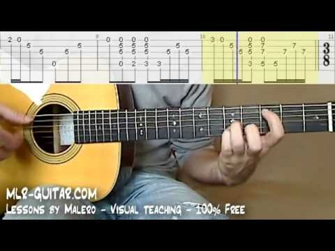 "Tab ""Nothing Else Matters"" - MLR-Guitar Lessons"