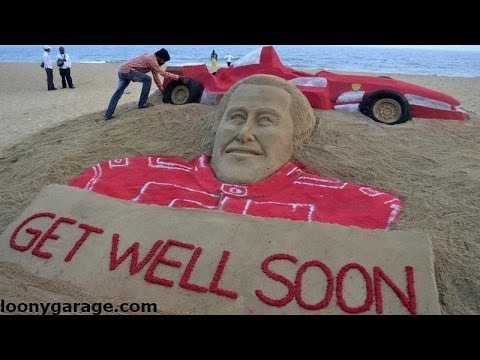 Schumacher 45th Birthday Fans Hold Vigil