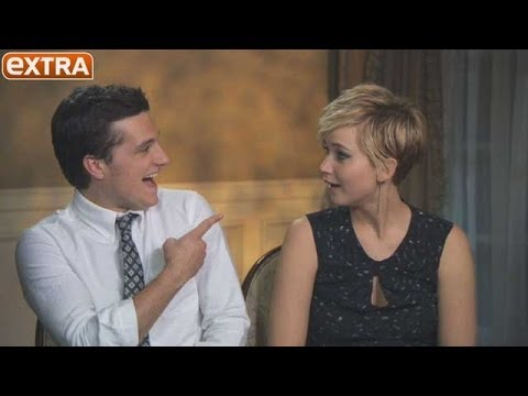 Josh Hutcherson Rates Jennifer Lawrence's Kissing Skills, Watch Her Reaction!