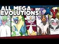 Pokémon X And Y - All Mega Evolutions W/ Stats And Locations!