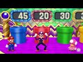 Фрагмент с средины видео - Mario Party 10 Coin Challenge - Mario v Waluigi v Toadette v Toad Master Difficult | CRAZYGAMINGHUB