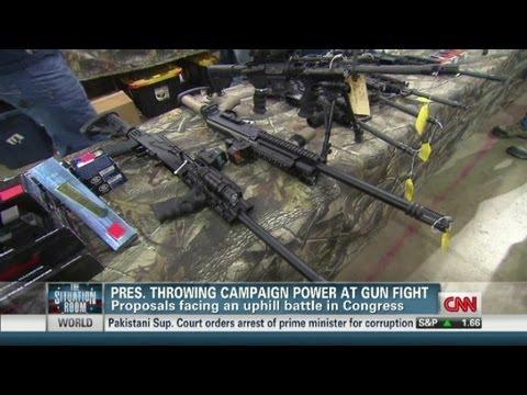 Obama and Congress' gun control battle