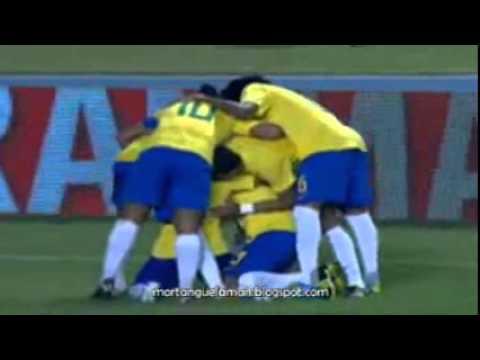 Brasil 2 x 0 Argentina - Gols e Lances - SuperClássico Das Américas, Amistoso - 28/09/2011