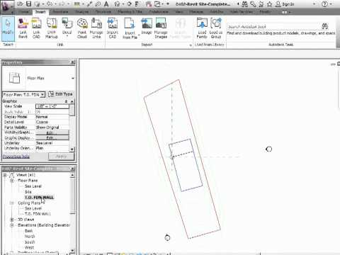 Advanced Revit Architecture 2012 Tutorial - Linking the AutoCAD into Revit