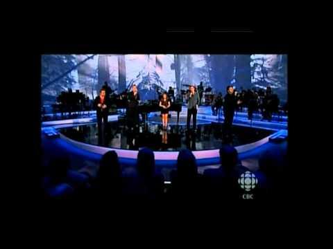 The Prayer - Charice, Canadian Tenors, David Foster Dec 2010 Canada