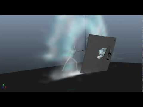 Maya 2012, DMM + Fluid Effects