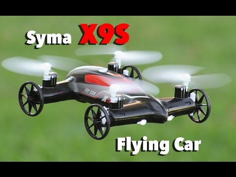 Syma X9S Air Wheels Flying Car Quadcopter - UCH6MbLEKxUPKK3y2uBreqDA