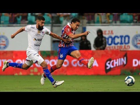 Veja os gols de Bahia 2x0 Fortaleza