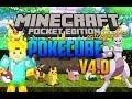 Minecraft Pocket Edition - Pokecube Mod v4.0