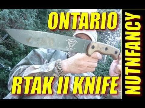 "Ontario RTAK II knife:  ""Woods Warrior"" by Nutnfancy"