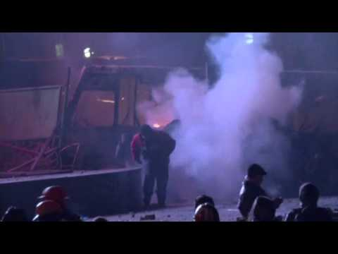 Dozens Injured in (Ukraine Protests)  1/20/14