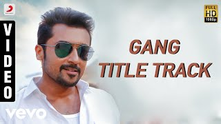 Gang - Title Track Telugu Video