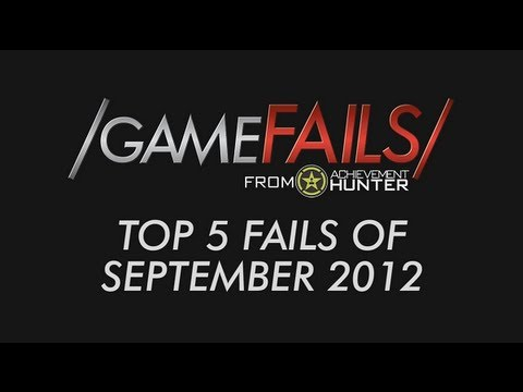 Game Fails: Best 5 Fails of September 2012