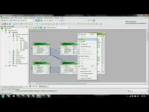 Informatica Tutorial Part 1.8 - Work with multiple Data Sources &amp; Aggregator