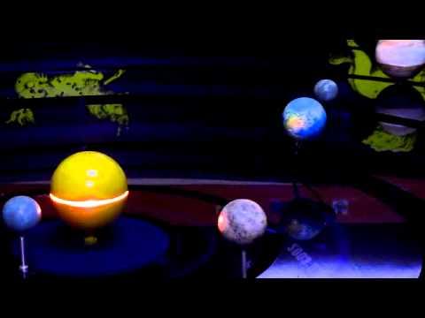Moto dei pianeti del sistema solare - Osservatorio astronomico di Roccapalumba.flv