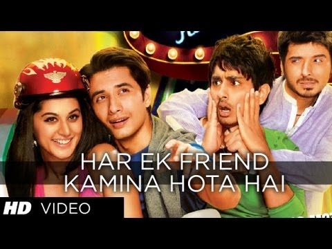 Har Ek Friend Kamina Hota Hai Video Song - Chashme Baddoor