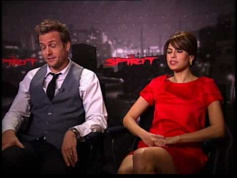 Eva Mendes Gabriel Macht interview for The Spirit