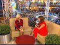 Интервью Ханны в открытой студии Партийной зоны МУЗ-ТВ (4 октября 2015)