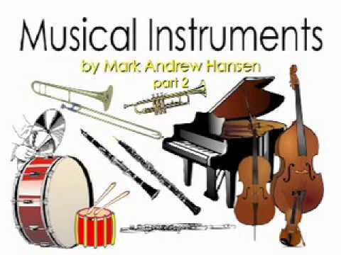 "Musical Instrument Sounds for Kids part 2 (Inspired by ""Peter and the Wolf"") - Mark Andrew Hansen"