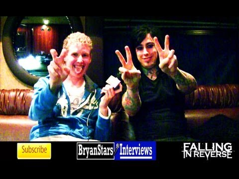 Falling In Reverse Interview #2 Ronnie Radke 2012