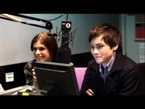 Percy Jackson & the Olympians: The Lightning Thief Cast Interview - BBC Switch - 16/02/2010