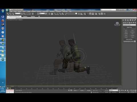 [FR] Importation et animation de models CSS avec 3Ds Max (part 2)