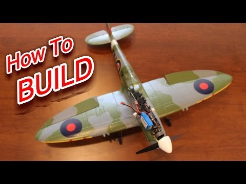 How to Build the AirCore Power Core and Spitfire RC Plane - UCYWhRC3xtD_acDIZdr53huA