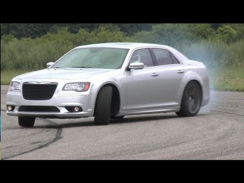 â–º NEW Chrysler 300 SRT8 (2012) on the track