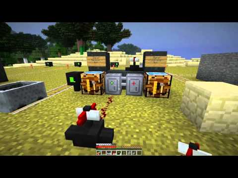 Jeet Plays Minecraft, Mod Spotlight: Railcraft Part 4 - Signaling