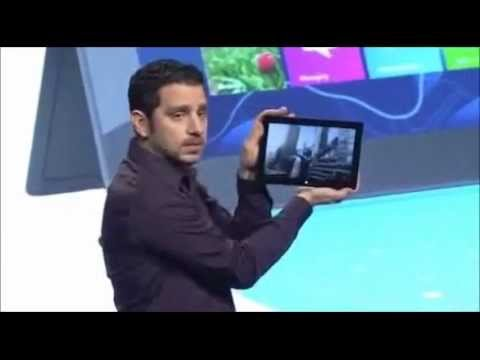Microsoft Surface Press Event Full - Microsoft Surface Keynote Presentation - Oct 2012