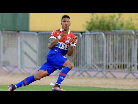 Veja os gols de Bahia 2 X 1 Juazeirense